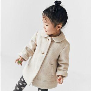 ZARA baby wool coat